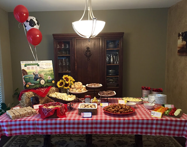 Farm Theme Party Food
