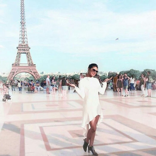 Actress Priyanka Chopra Latest Photos at Paris Fashion Week