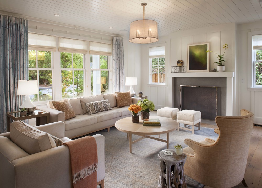 Decor inspiration modern farmhouse style living rooms for New style living room