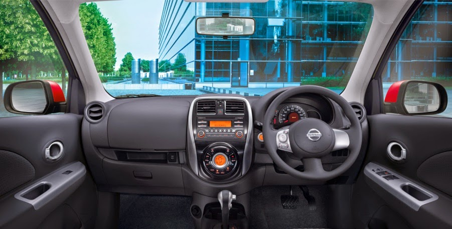 Dashboard Nissan March 2015