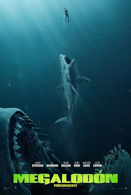 Megalodón Poster - The Meg
