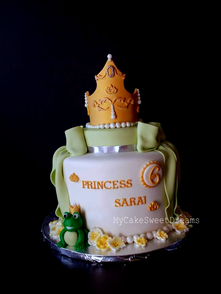 My Cake Sweet Dreams The Princess And The Frog Birthday Cake