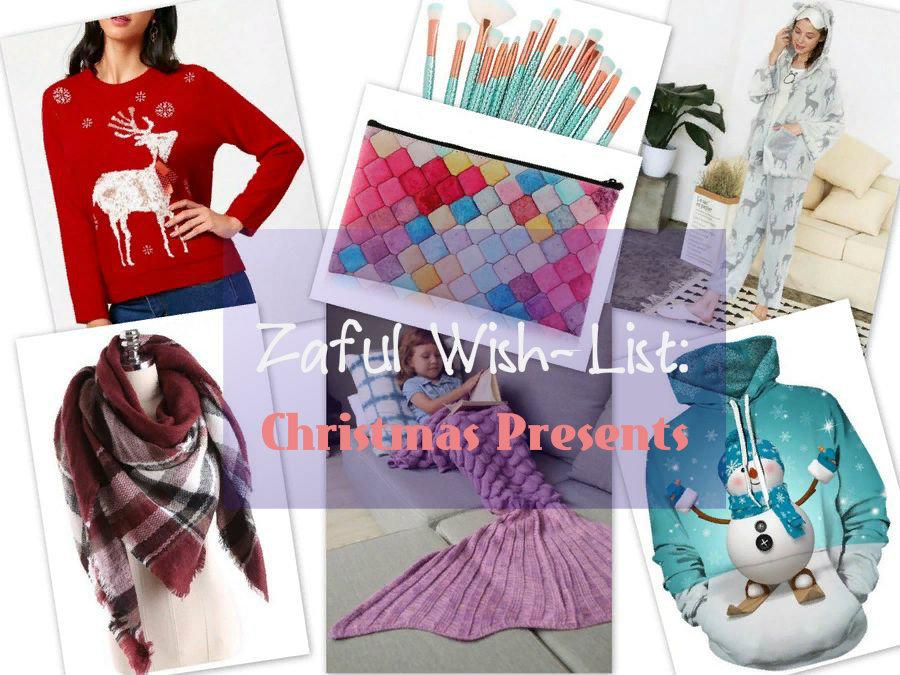 "ZAFUL Wish-List: Christmas Gifts. Подарки к Рождеству и Новому Году / ""список желаний"""