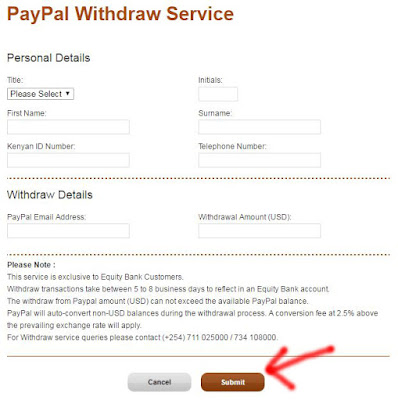 How to Withdraw Money from PayPal in Kenya image 2