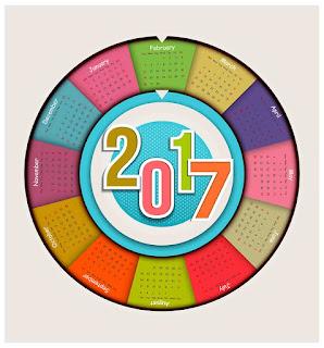 2017カレンダー無料テンプレート13