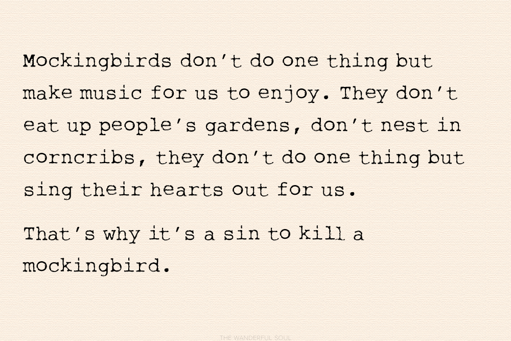 Best Quotes from To Kill A Mockingbird