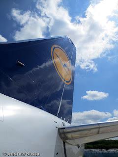 Lufthansa 737-500 Tail