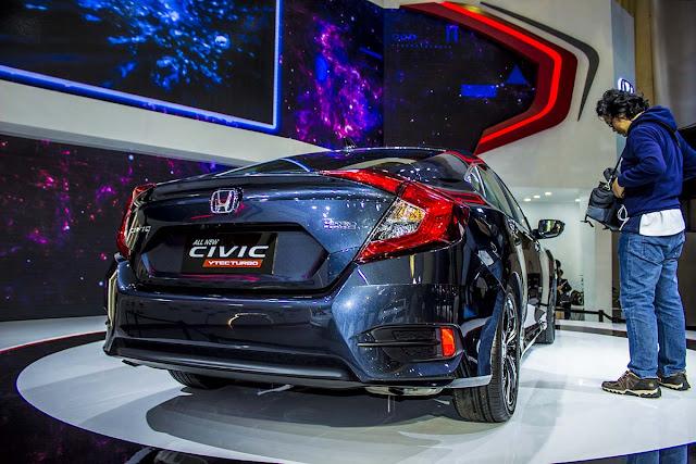 Honda Civic 2017 công bố giá bán tại Việt Nam honda civic 2017