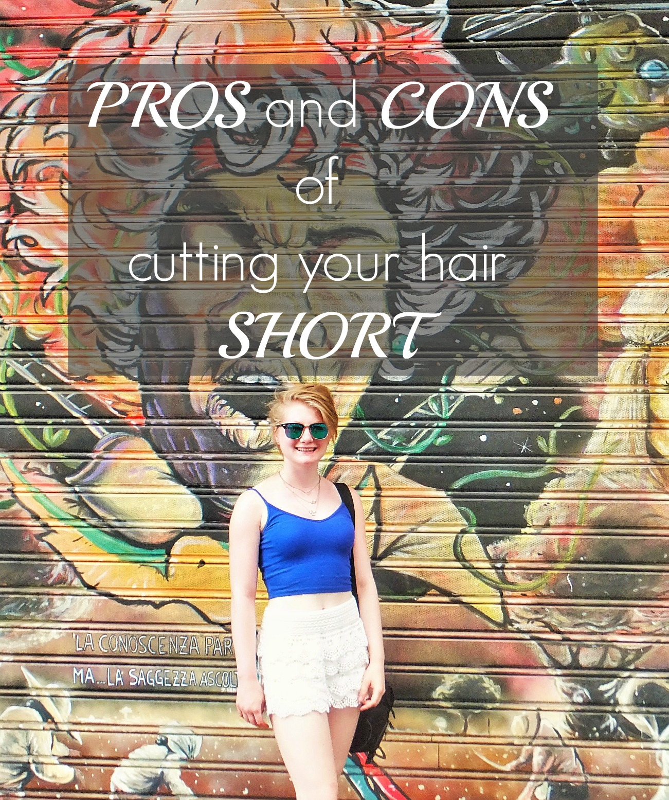 Bell Santiago: Pros and cons of cutting your hair short