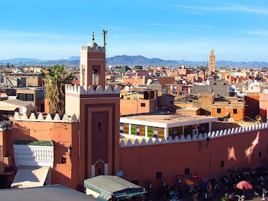 Traveling with Friends to Marrakesh