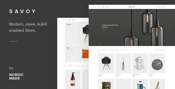 Savoy v1.2.3 – Minimalist AJAX WooCommerce Theme