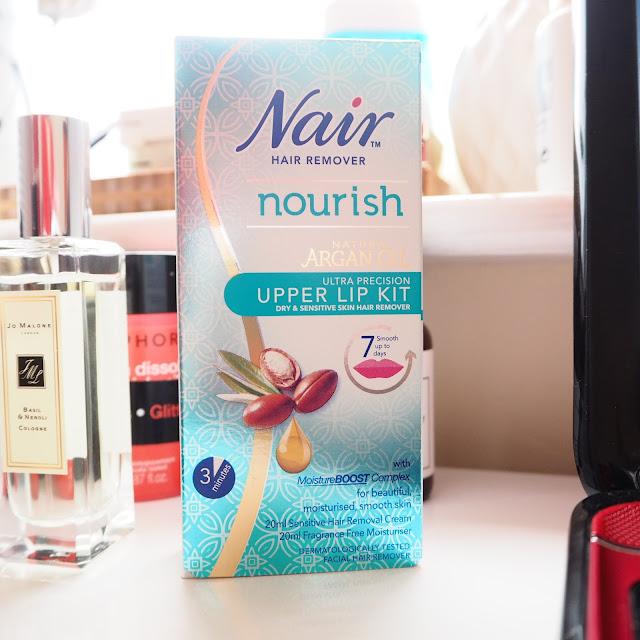 Nair Nourish Upper Lip Kit Get Lippie 20160903