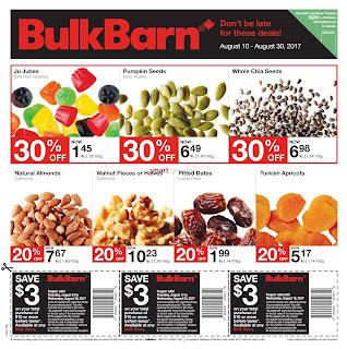 Bulk Barn Flyer Deals so great valid August 10 - 30, 2017