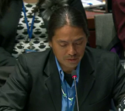 Utah Diné Bikéyah Urges Protection of Bears Ears at United Nations