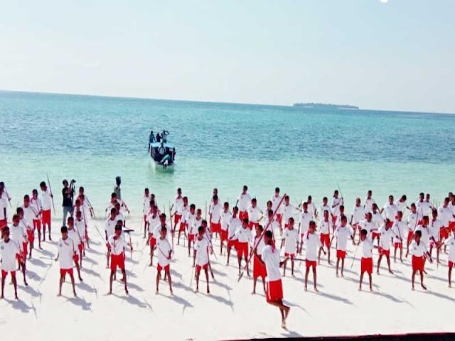 Puncak Festival Pesona Meti Kei (FMPK) ke III di Pantai Ngurbloat