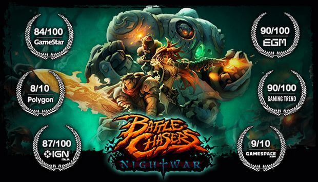 BATTLE CHASERS NIGHTWAR-FREE DOWNLOAD