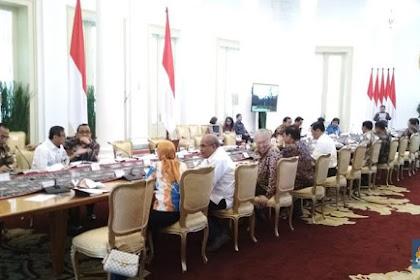 Rupiah Terperosok ke Level Rp 14.816, Jokowi Kumpulkan Menteri di Istana Merdeka Usai dari Lombok