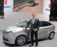 Teni Suzuki baleno geliyor
