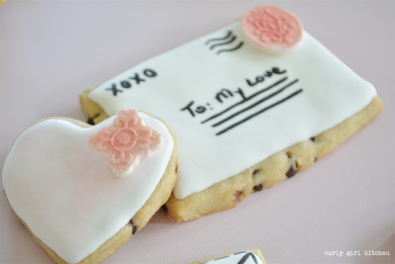 Valentine's Day, Valentines Cookies, Chocolate Chip Cookies, Shortbread Cookies, Royal Icing, Heart Cookies, Love Letter Cookies