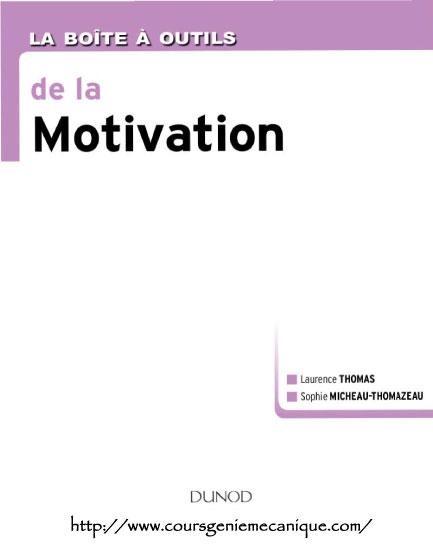 Télécharger La Boîte à outils de la Motivation en pdf