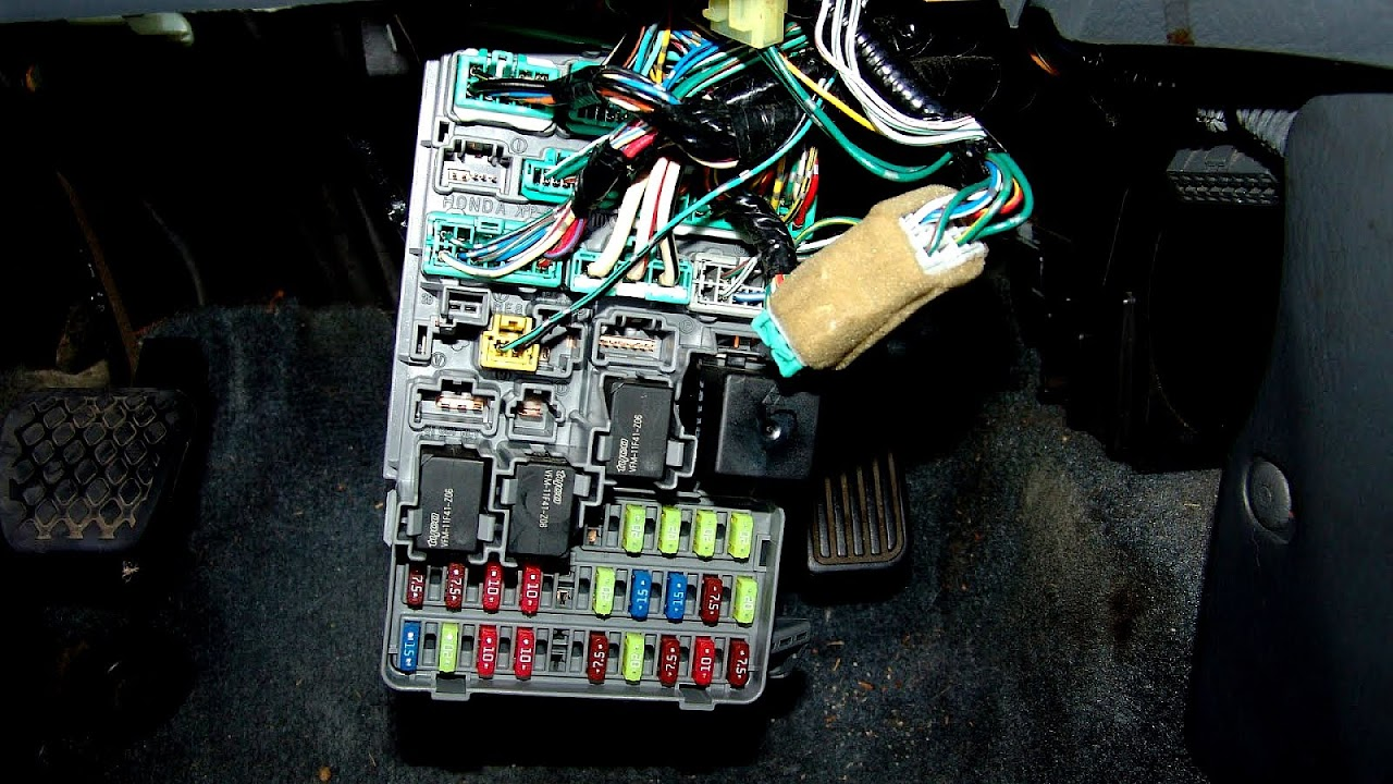 small resolution of honda odyssey fuse box