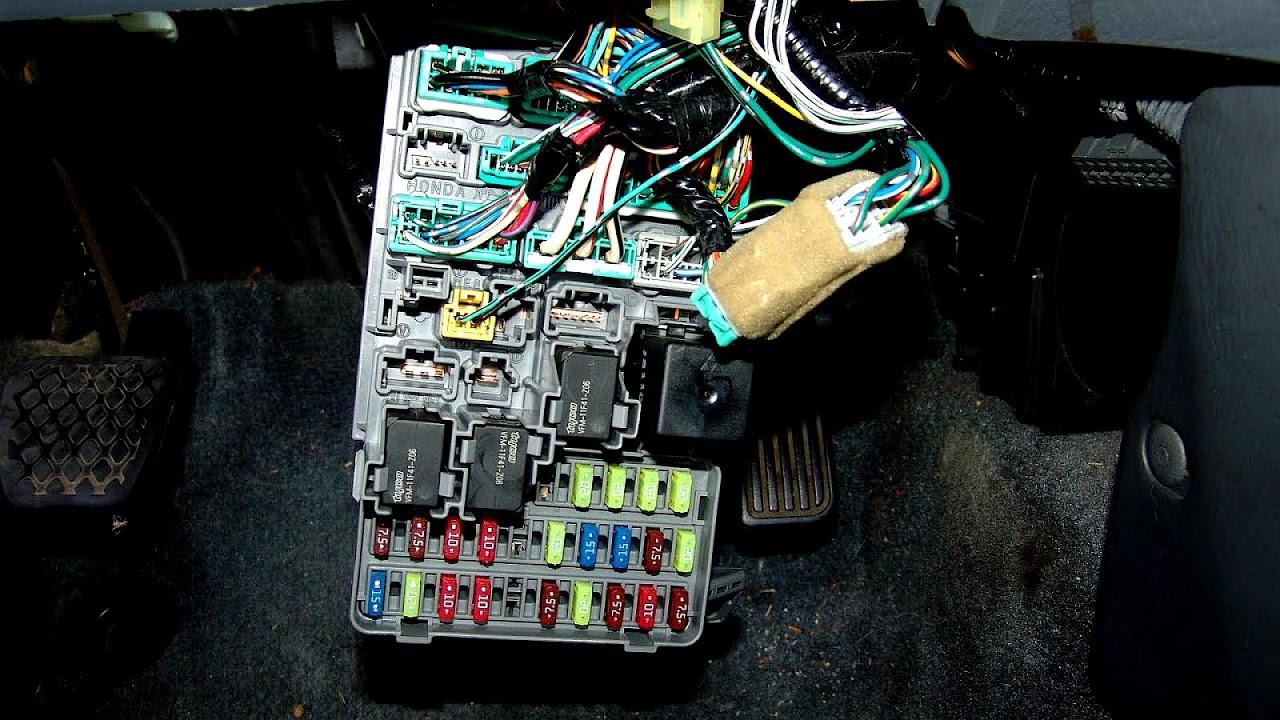 medium resolution of honda odyssey fuse box