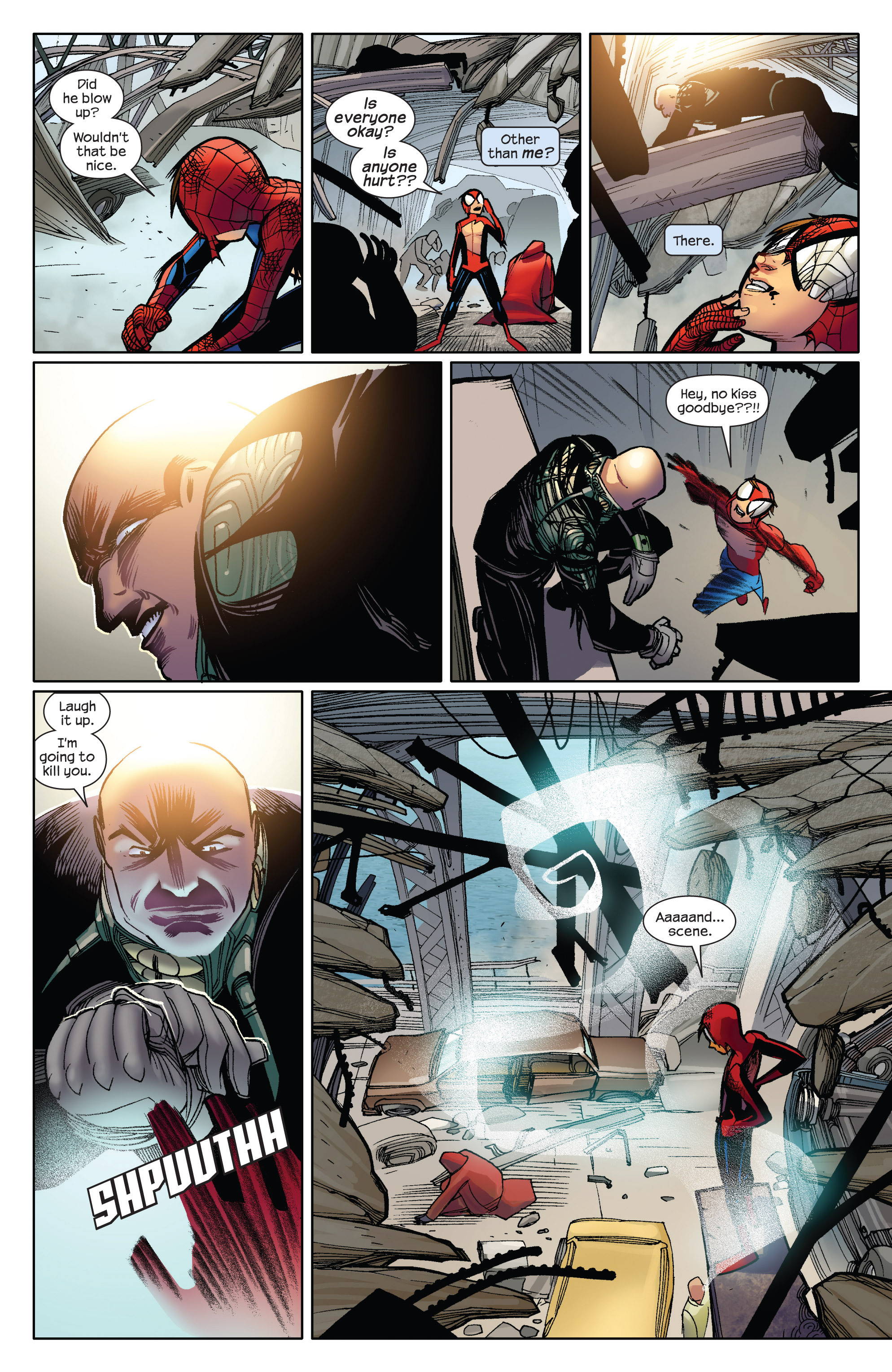 Read online Ultimate Spider-Man (2009) comic -  Issue #5 - 9
