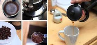 tutorial gambar cara menyajikan kopi luwak secara modern 2016