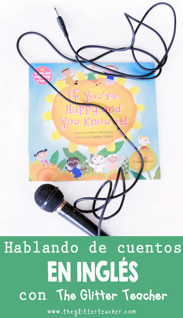 If you're happy and you know it! reseña de cuento en inglés para familias y teachers
