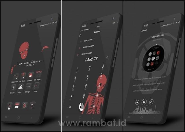 Theme Xiaomi Tembus OVERLORD MIUI 10