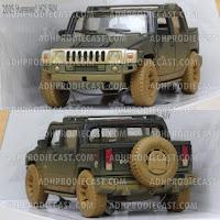 Miniatur Hummer H2 SUT Dirt (Black-32K)