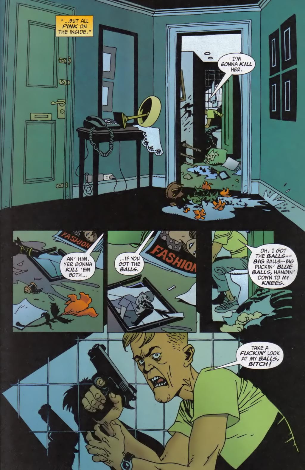 Read online 100 Bullets comic -  Issue #59 - 4