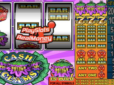 Cash Clams Slots