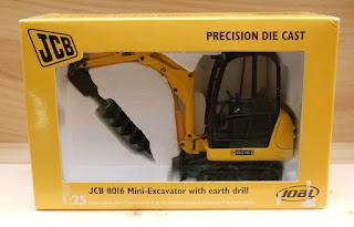 maqueta de mini-excavadora escala 1:25