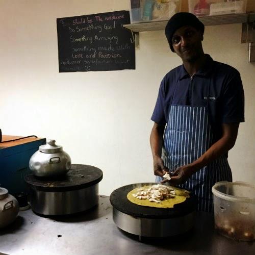 Cameroonian Pancakes at Maloko