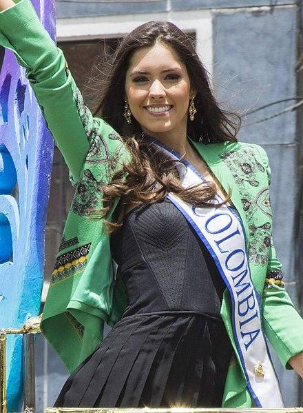 コロンビアのミスユニバース代表「ポーリーナ・ベガ」