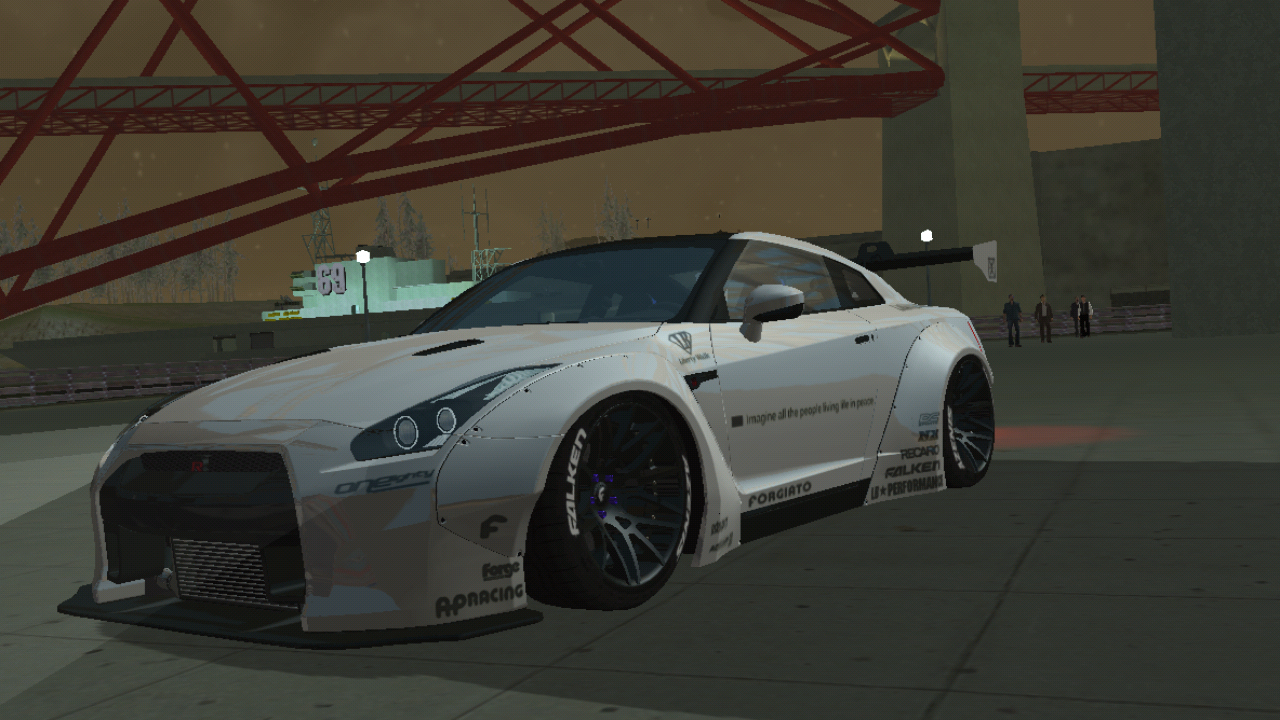 2015 Nissan GTR R35 Premium Liberty Walks By DULL - DULL-SA MOD