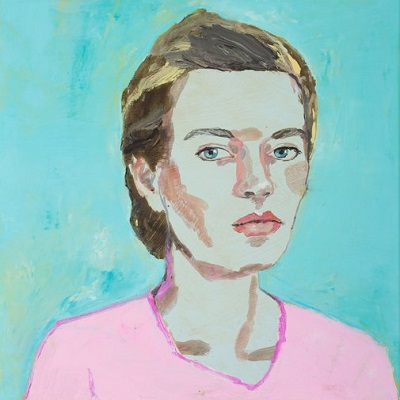 """Self-portrait"" by Vanessa Stockard | Archibald Prize 2018 Finalist | creative emotional paintings, cool stuff, pictures, deep feelings, sad | obras de arte contemporaneo, cuadros, imagenes de pinturas tristes bonitas | peintures, pitturas"