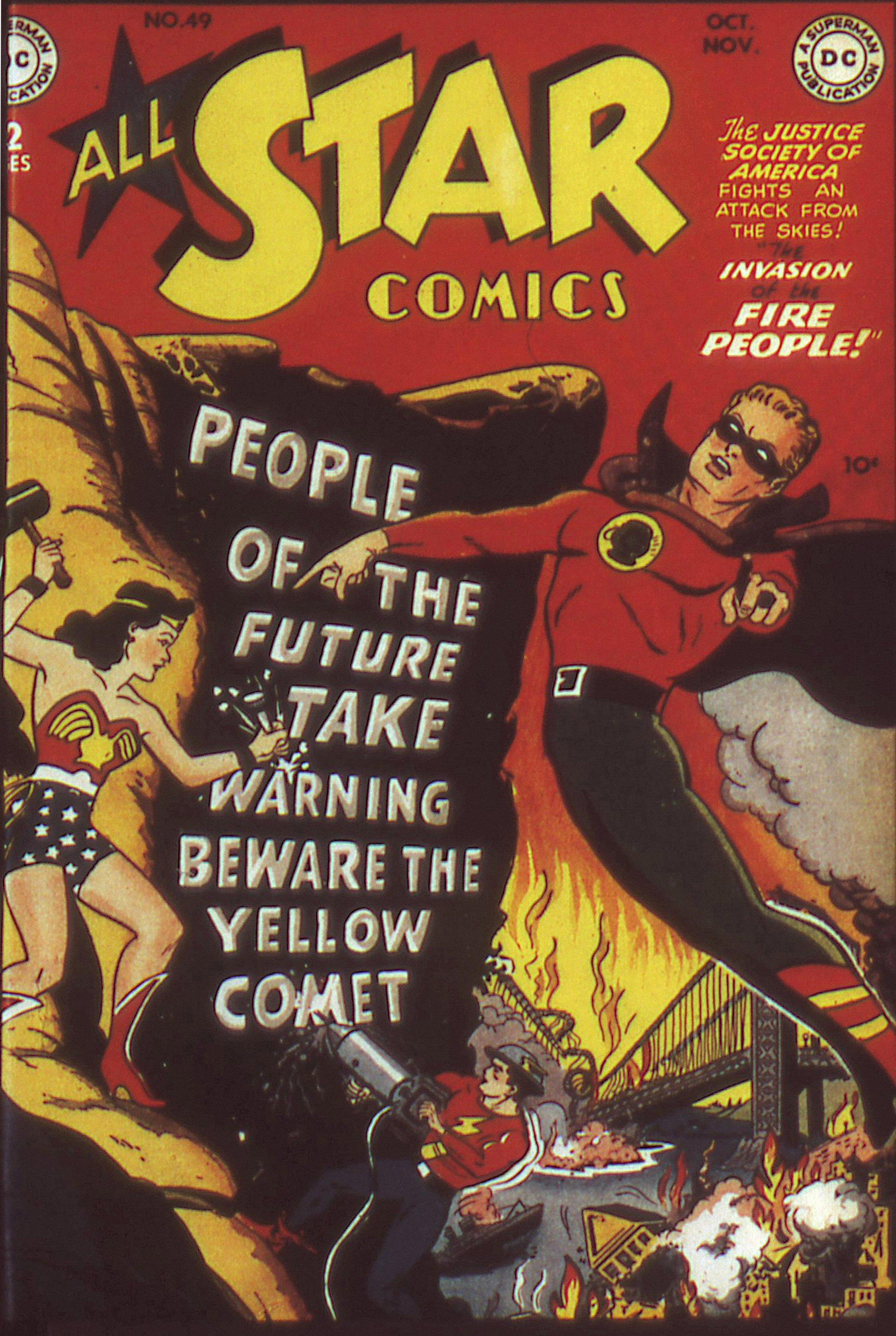 Read online All-Star Comics comic -  Issue #49 - 2