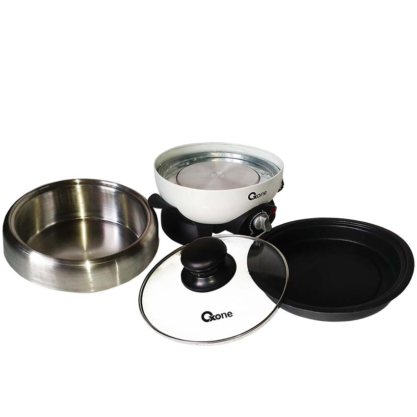 OX-16CP Oxone Mini Shabu Pot & Barbeque - 800W