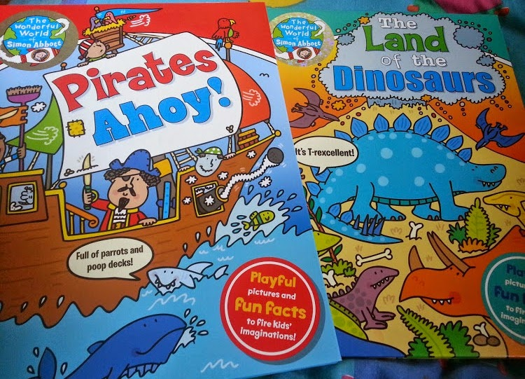 Ticktock books from Octopus press Pirates and dinosaurs review