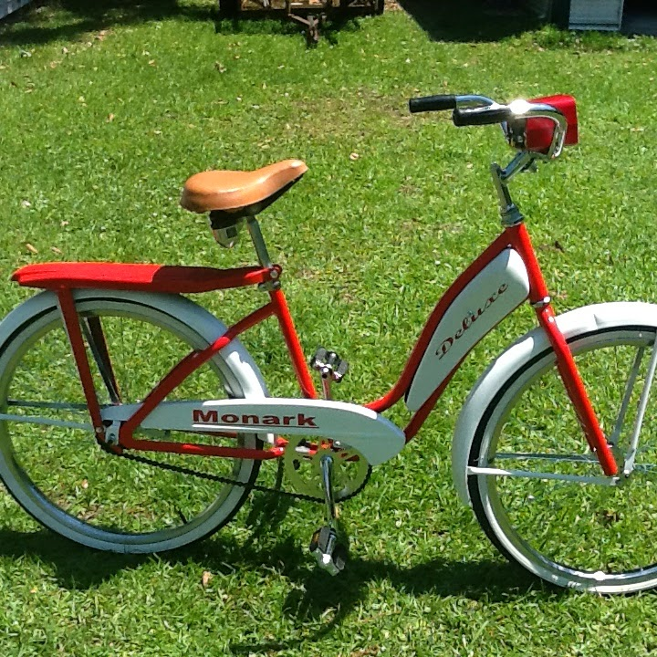 Schwinn Bicycle Painting : Auto color schwinn bicycle and monarch