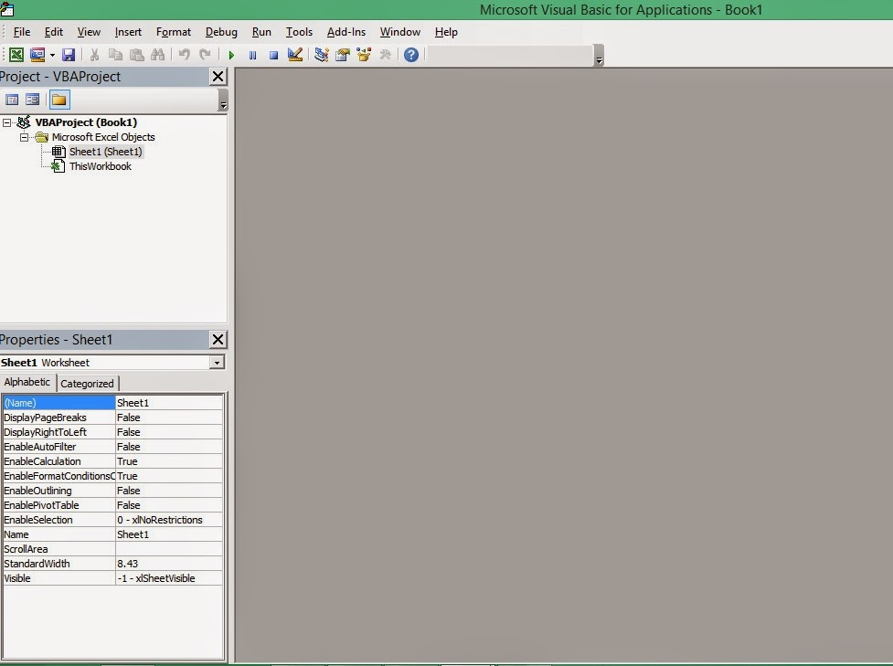 Excel-VBA Solutions: Getting started with Visual Basic Editor in Excel