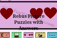 Rebus Picture Puzzles for Teens with Answers