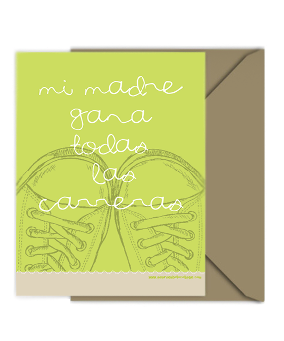 pantone greenery mothers day free printable card