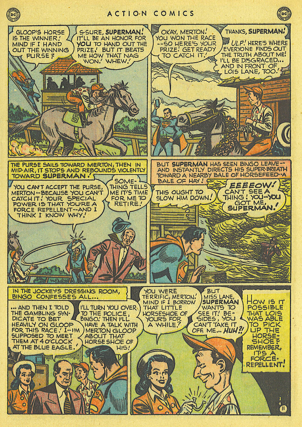 Read online Action Comics (1938) comic -  Issue #145 - 12