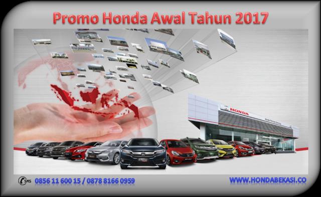 Promo Honda Awal Tahun 2017
