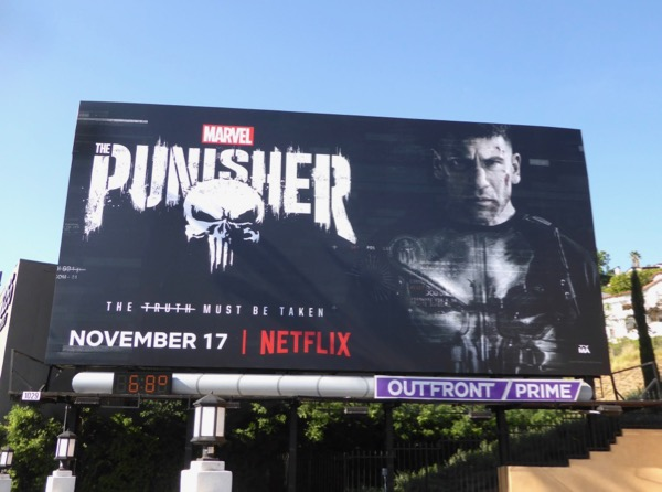 Jon Bernthal Punisher billboard