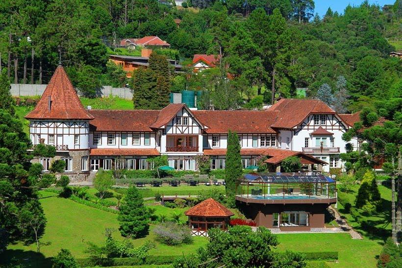 Hotel Vila Inglesa - Campos do Jordão - SP - Gramado e Campos do Jordão têm os melhores hotéis do Brasil