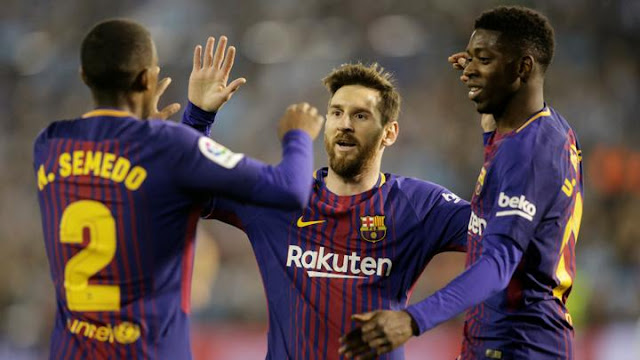 Barcelona Bantai Sevilla Dengan Skor Akhir 0-5